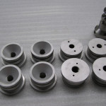 Komplexe Frästeile aus Constructal (Aluminum)