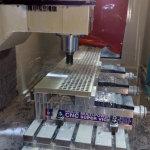 Herstellung eines Rohrbodens für Wärmetauscher 2350 x 380 x 50 mm aus 1.4571 (V4A).